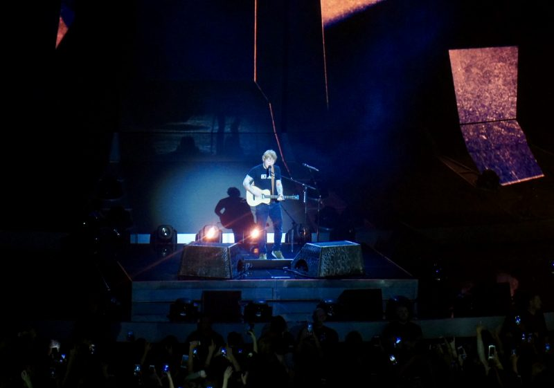 Ed Sheeran At The 3Arena Dublin