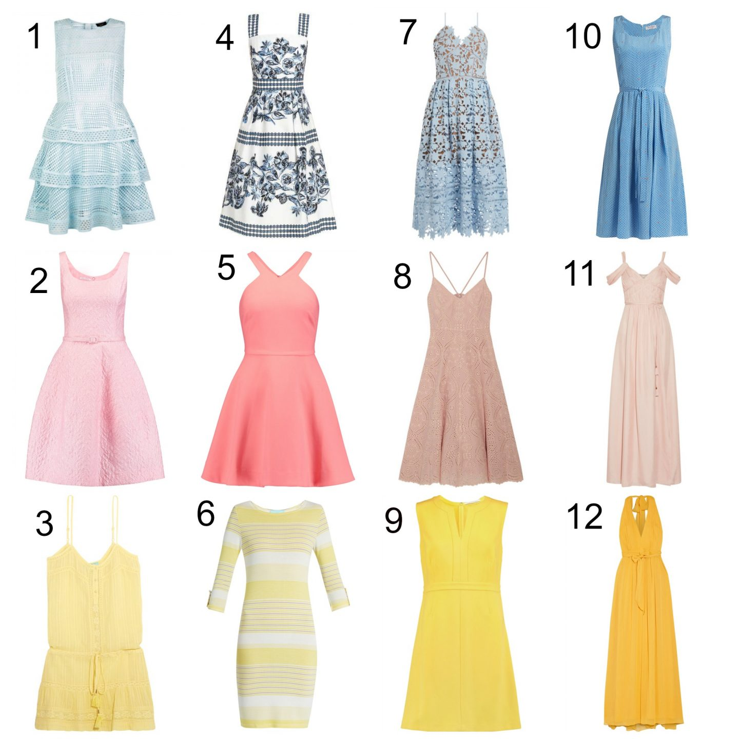 Summer Dress Round Up