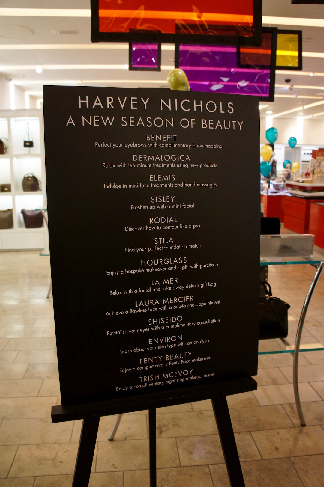 An Evening At Harvey Nichols