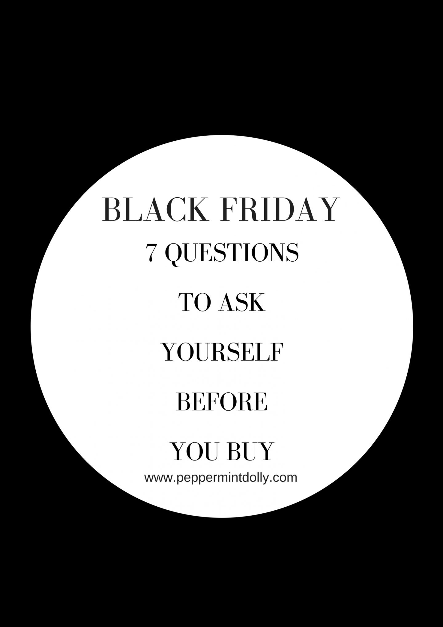 Black Friday 7 Questions To Ask Yourself Before You Buy
