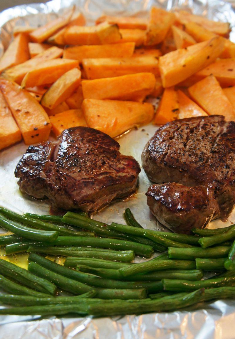 Steak & Chip - A Post Gym Dinner