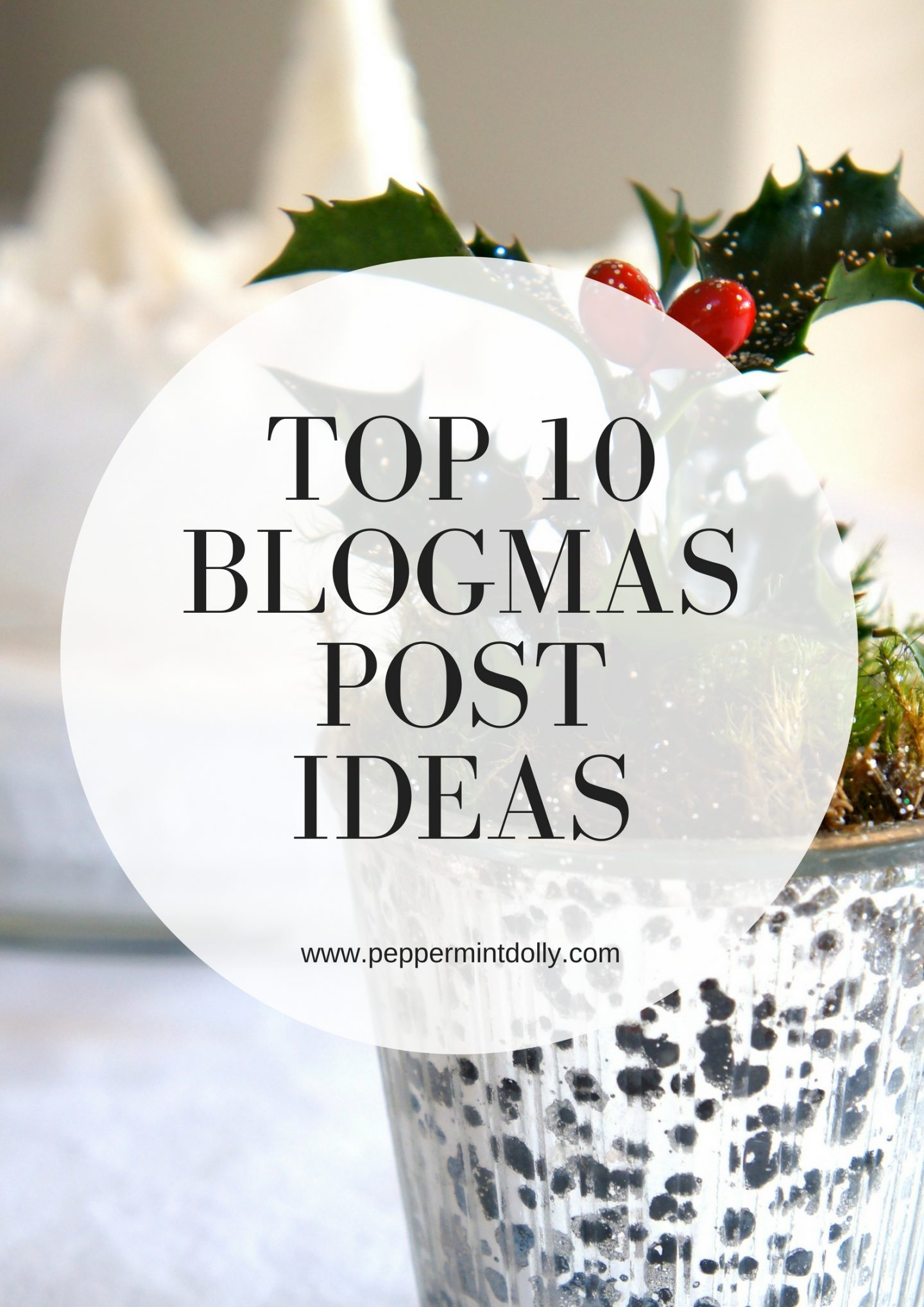 Top 10 Blogmas Post Ideas