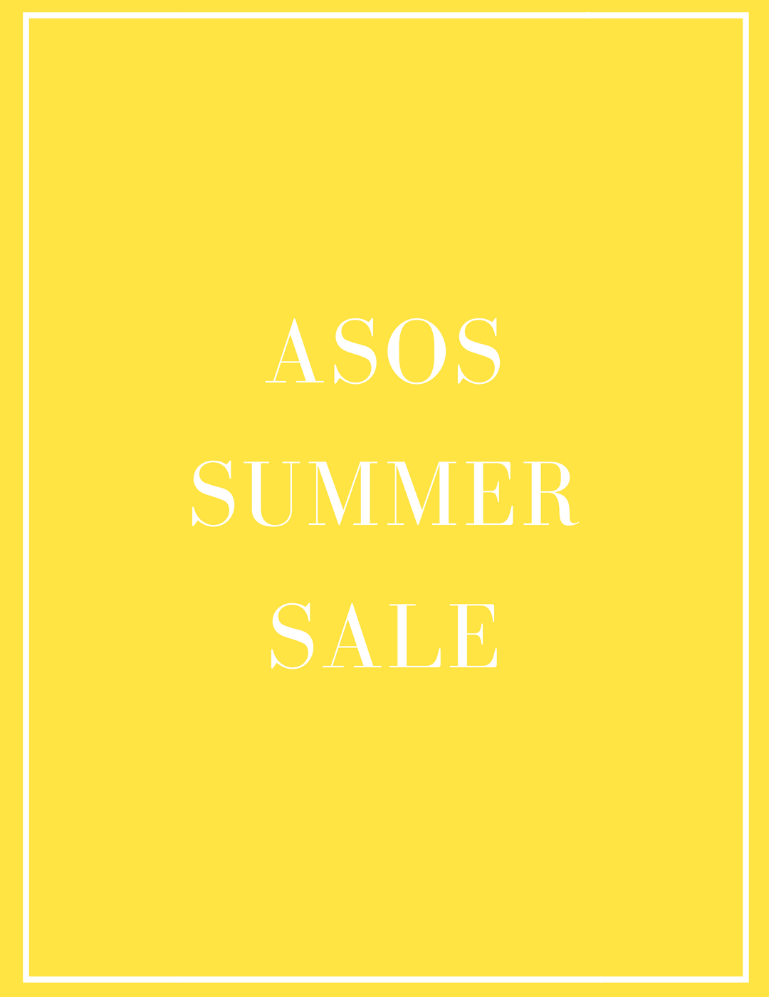 ASOS Summer Sale