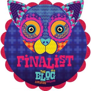 Blog Awards Finalist Badge