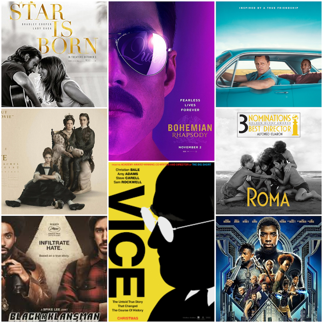 Best Picture Nominations The Academy Awards 2019