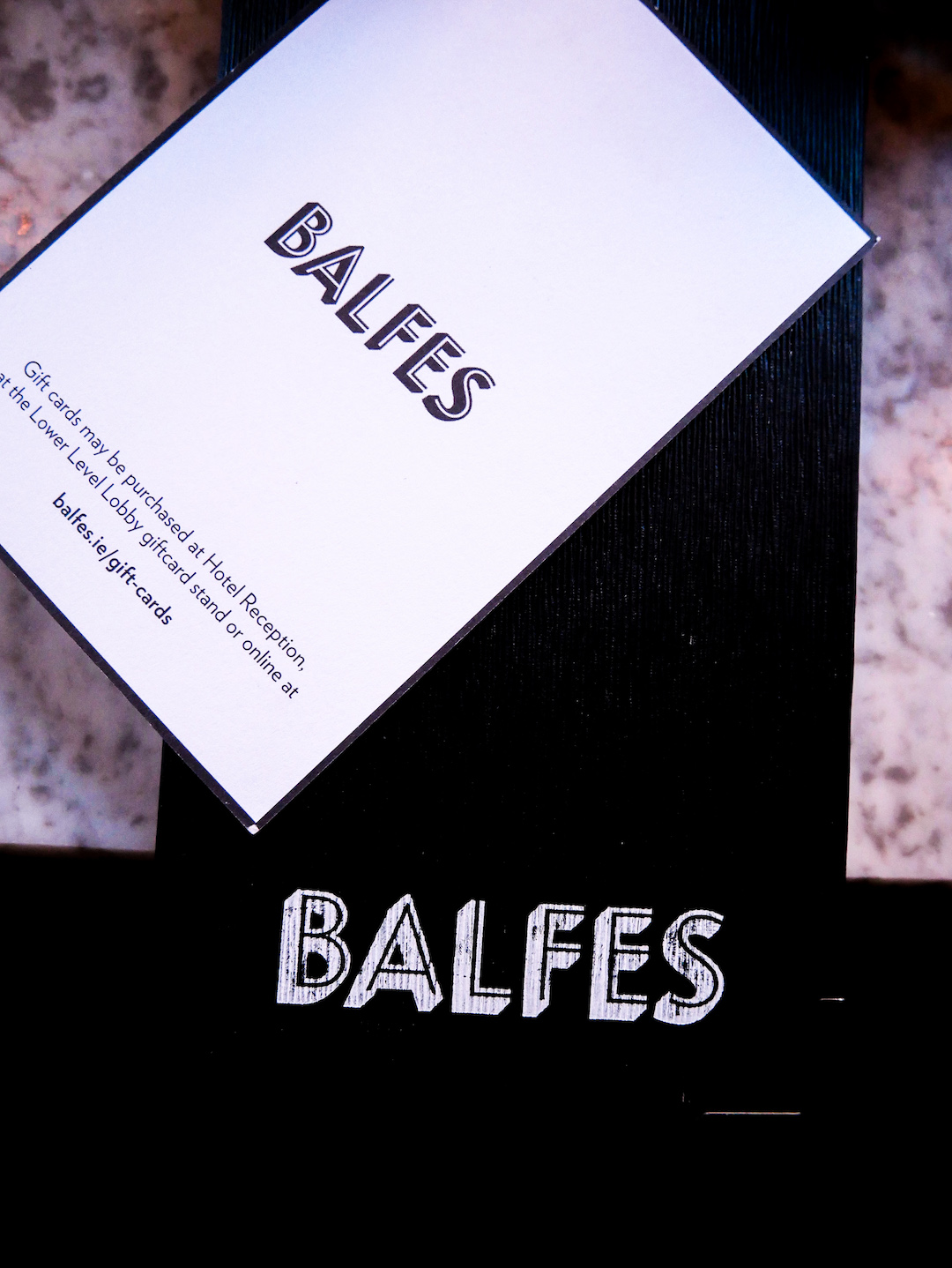 Balfes At The Westbury Hotel, Dublin